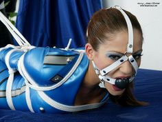 Vivian Ireene Pierce Harness Gagged
