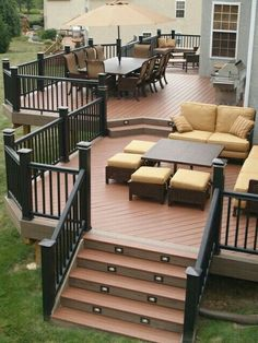 Beautiful Wooden Deck Ideas For Your Home Decking Backyard