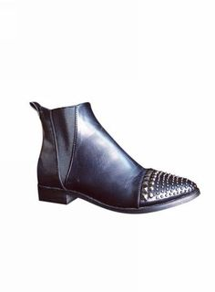 MIAO Studded Details Ankle Boots @ shopjessicabuurman.com