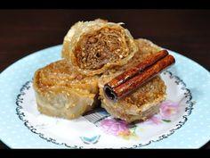 σουσαμοπιτάκια ρολά - σαραγλάκια sarahli me sousami CuzinaGias - YouTube Oriental Food, Oriental Recipes, Greek Pastries, French Toast, Sweets, Breakfast, Youtube, Kuchen, Morning Coffee