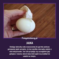 Kliknij i przeczytaj ten artykuł! Cooking Tips, Cooking Recipes, How To Cook Eggs, Good Advice, Kitchen Hacks, Good To Know, Helpful Hints, Life Hacks, Remedies