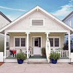 10 Beautiful Beach Cottages | 3. Surf Shack Chic | CoastalLiving.com