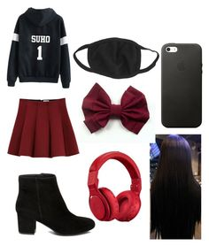 """""""Untitled #33"""" by lilyloading on Polyvore featuring Outstanding Ordinary, Steve Madden and Beats by Dr. Dre"""