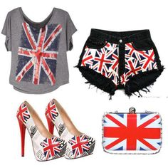 British union jack outfit, LOVE it!!!!!