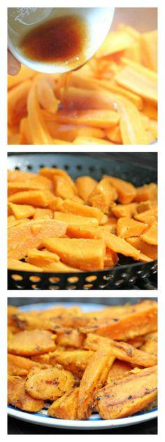 Grilled Sweet Potato Fries | 5DollarDinners.com