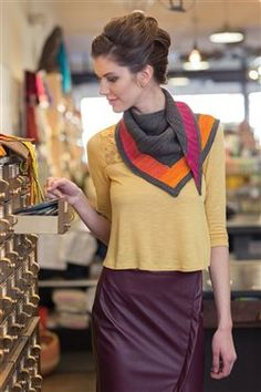 Beacon Shawl - Media - Knitting Daily