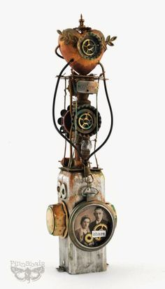 Sweet Steampunk Nothing - or the Beauty of Artistic Recycling