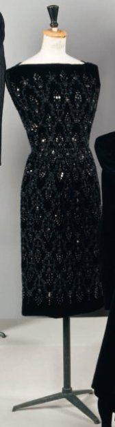 Castillo For Jeanne Lanvin Haute Couture, 1958 Vintage Fashion 1950s, Fifties Fashion, Vintage Couture, 50 Fashion, Timeless Fashion, Retro Fashion, Vintage Style, Jeanne Lanvin, Vintage Dresses