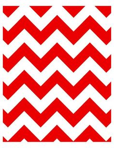Any Color Chevron Pattern Art Print 8 x 10 Red by breedingfancy, $18.00