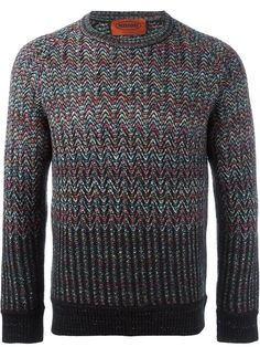 MISSONI crew neck sweater. #missoni #cloth #sweater
