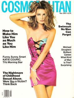 Paulina Porizkova for Cosmopolitan US May 1992