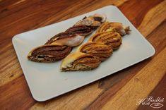 Pletený koláč s nutellou - Sladká Pusa Nutella, Bread, Food, Brot, Essen, Baking, Meals, Breads, Buns