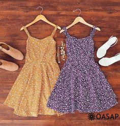 Women Sleeveless Floral Print Backless Flare Dress m.OASAP.com