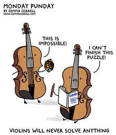 Ideas For Music Humor Violin Funny Music Jokes, Music Humor, Orchestra Humor, Funny Music, Best Puns, Friday Humor, Lol, Music Stuff, Music Things