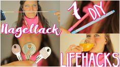7 LIFEHACKS die man mit Nagellack machen kann 💅 | DIY + Upcycling