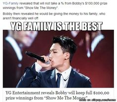 Bobby's love for his family is AMAZING!