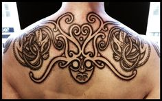 Vikings tattoos by Peter Walrus Madsen, a Mash-Up of Nordic Folk Art and Geometry - KickAss Things Norse Mythology Tattoo, Norse Tattoo, Celtic Tattoos, Viking Tattoos, Great Tattoos, Body Art Tattoos, Awesome Tattoos, Tatoos, Images Viking