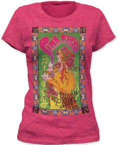 1c8d4e23d4ccd Pink Floyd 1966 London Concert Promotional Poster Women s T-shirt Concert  Shirts
