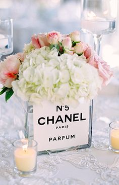 Parisian Coco Chanel Themed Bridal Shower - Inspired By This