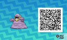 Pokemon Sun / Moon QR Codes - What's with the mouth? Pokemon Luna, Pokemon Rare, Make A Pokemon, Code Pokemon, Pokemon Fan Art, New Pokemon, Pokemon Stuff, Tous Les Pokemon, Pikachu