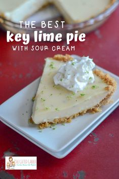 This Florida key lime pie recipe has sweet milk & key limes for a true key lime pie Key West version. Pie Recipes, Dessert Recipes, Pie Dessert, Lemon Desserts, Cold Desserts, Pastry Recipes, Summer Desserts, Cheesecake Recipes, Florida Key Lime Pie Recipe