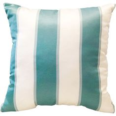 "Better Homes and Gardens Amedori Stripe 18""x18"" Decorative Pillow, Cream . Love these! Need 2 for my living room!"