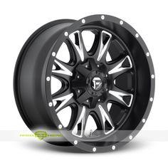 Fuel Throttle Finish: Black Milled  More Info: http://www.wheelhero.com/customwheels/Fuel/Throttle-Black-Milled