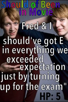 Harry Potter and the Order of the Phoenix  Should of Been in Movie Fred and George Funny OWLS NEWTS E Exams Should've Been in Movie