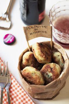 Polpette di Zucchine - Courgette's meatballs #meatballs #courgette #italianrecipes
