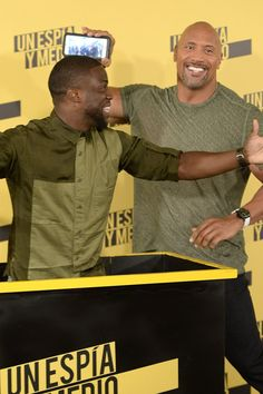 Dwayne Johnson and Kevin Hart Have an Absolute Ball While Promoting Their New Comedy