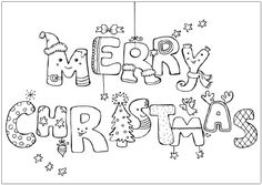 10 Best Christmas Cards Coloring Page Images Christmas Cards