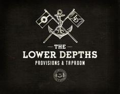 Lower Depths Restaurant Branding