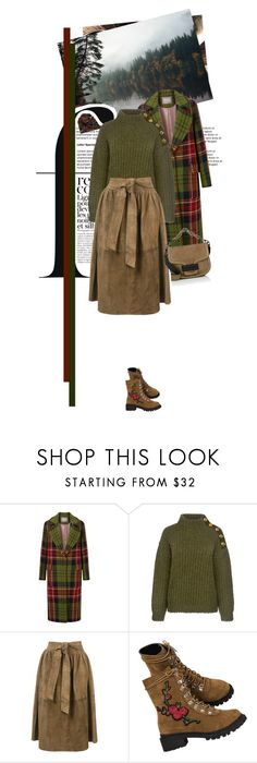"""""""The Stillness of Water"""" by seafreak83 on Polyvore featuring Boutique Moschino, Apiece Apart, Pierre Hardy and French Connection"""