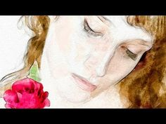 ▶ Photoshop: How to Make a Beautiful, Watercolor Portrait from a Photograph - YouTube.