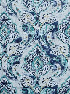 HILLCREST INDIGO #blue-turquoise #patterns #woven-fabrics