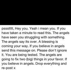 Just bcuz I believe!
