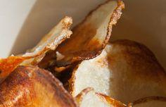 Homemade Salt & Vinegar Potato Chips