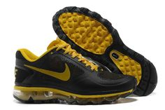 Cheap Nike Air Max 2013 Yellow Black Shoes On Sale - $68.98 airmax-onsales.com Cheap On Sale