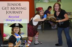 earn the Get Moving Journey with your Junior girls
