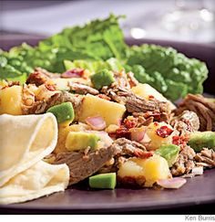 Beef & Potato Salad With Smoky Chipotle- In central Mexico, this salad is a standard—served as an appetizer, main dish or taco filling. Serve it with lime wedges, warm tortillas or tortilla chips.