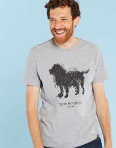 Graphic Top Dog Print T-Shirt | Joules UK