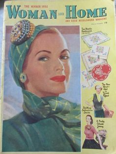 Woman and Home magazine from March 1952