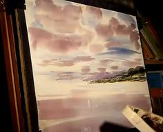 Watercolour Painting Lesson featuring Loch Fyne - Scotland Part 1 - Video Lessons of Drawing & Painting