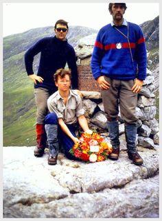 Kinloss MRT. Alan Grouts memorial circa 1974. #Bob Gray, Jerry Byrne & Eric Hannant (Smoc).