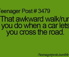 hhahah happens to me allll the time.