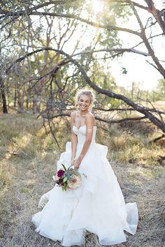 Karen Willis Holmes wedding dress | 35mm Wedding Photography
