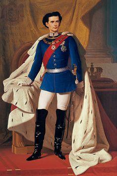 Luis II, cuadro de Ferdinand von Piloty