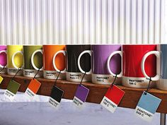 [ ceramic #mug + color + #designnerd ] #PANTONE mugs