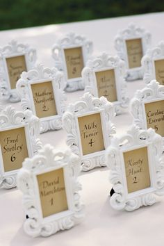 Favor and seating cards in one