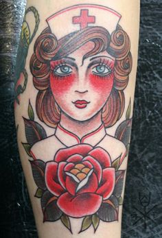 traditional nurse tattoo
